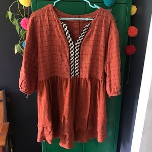 Piper and Scoot Contrast Tunic